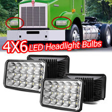 4x 4x6'' Led Headlight For Gmc W3500 W4500 W5500 Forward Isuzu Npr-Hd Nqr Lamps