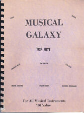 MUSICAL GALAXY TOP HITS FOR ALL MUSICAL INSTRUMENTS. CROCE, CHER, SINATRA, ETC.