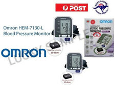 OMRON HEM-7130 Large Cuff Upper Arm BP Monitor 22cm-42cm Cuff DELUXE BP machine