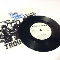 "Thin Lizzy 'Trouble Boys' Lizzy9 White Labels Version 1981 7"" Vinyl Single EX!"