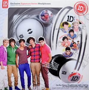 New One Direction 1D Signature Series Interchangeable SnapCaps On-Ear Headphones