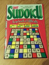 Just SUDOKU - 4 Levels Difficulty - Issue 87 - Puzzle Book