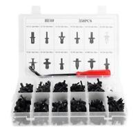 350pcs Car Body Plastic Push Pin Rivet Fasteners Trim Clip Assortment Kit Mouldi