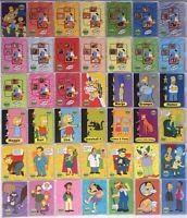 Simpsons 10th Anniversary Celebration Base Card Set Inkworks 2000