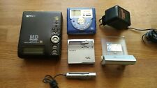 SONY SHARP MINIDISC READER MZ-2P MZ-N1 MD-MS721H(BL) NOT TESTED FOR SPARE PARTS