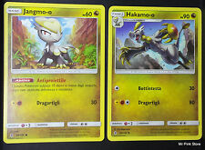 JANGMO-O 98/145 + HAKAMO-O 99/145 Italiano POKEMON Sole Luna Guardiani Nascenti