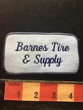 Vtg Patch - BARNES TIRE & SUPPLY Car / Automotive Related 74A5