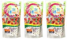 3 packs de wufuyuan couleur tapioca pearl 250g pour bubble tea drink boba lait thé