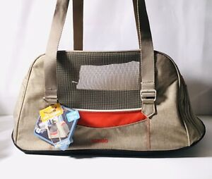 Kurgo Metro Dog Carrier Red Beige Color - Brand NEW - FREE Shipping.    W482