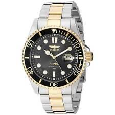 Reloj de Pulsera Invicta para Hombre Pro Diver Cuarzo Esfera Negra Pulsera dos tonos 30023