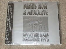 Dennis Most & Audiolove - Live At The El Cid Dec.1976 - Japanisch Import + Obi