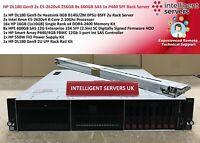 HP DL180 Gen9 2x E5-2620v4 256GB 8x 600GB SAS 1x P440 SFF Rack Server