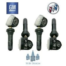 Set Of 4 Genuine Oem Genuine Gm Buick Enclave Tpms Tire Pressure Sensors Kit