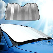 Foldable Car Windshield Visor Cover Front Rear Block Window Sun Shade Silver USA