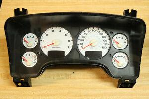 2002 2003 02 03 Dodge RAM 1500 2500 Instrument Gauge Cluster Tach Speedometer