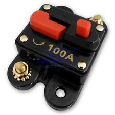 100 Amp In-Line Circuit Breaker Solar/Audio/Car/RV 100A/100AMP Fuse 12V/24V/32V