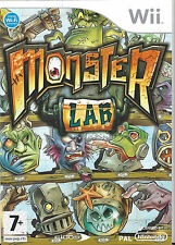 MONSTER LAB for Nintendo Wii - with box & manual - PAL