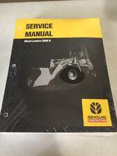 New Holland LW80.B Wheel Loader Service Manual