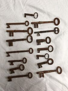 Antique Collection Of Keys