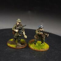 Pro Painted 28mm Bolt Action German fallschirmjager (Plastic) officer & NCO Ww2