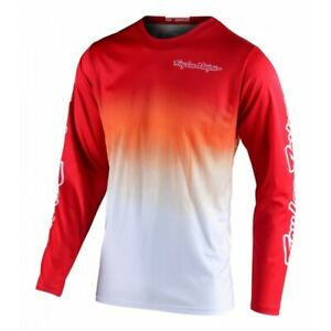 Troy Lee Designs TLD GP STAIND Motocross Race Jersey Red White Adults