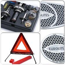 Travel Essential Kit - Car Bulb/Fuse & Eurolites Beam Benders & Warning Triangle