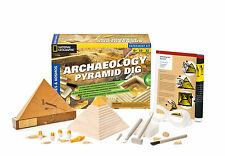 Thames & Kosmos Archaeology Pyramid Dig National Geographic Science