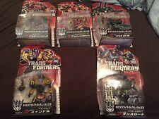 Transformers Takara Generations Bruticus Set Of 5 FOC Japanese MOSC New Lot
