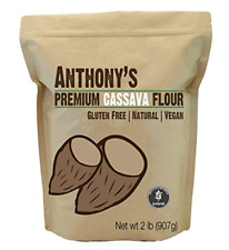 Cassava Flour by Anthony's, 2 pounds 32 Ounce, Batch Tested Gluten-Free
