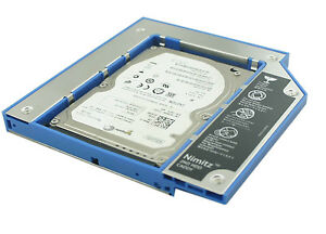 For ASUS N75 N76 N80 N81 N82 N90 2nd HDD SSD hard drive Caddy