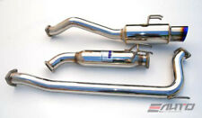 INVIDIA N1 Titanium Tip Catback Exhaust +Silencer for Civic 06-11 *SI Coupe FG2*