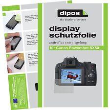 6x dipos Canon Powershot SX50 Pellicola Prottetiva Antiriflesso Proteggi Schermo