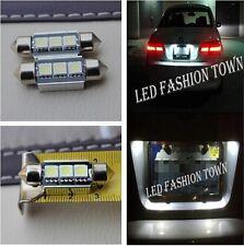 2x 36mm LED license plate lights for vw golf 3 4 5 6 3c b6 b5 passat polo prius