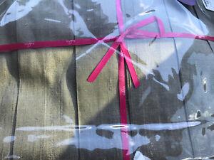 Ann Gish 100% Silk QUEEN Bedskirt dupione