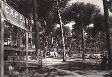 # LIDO DEI PINI- LAVINIO: CAMPING ed insegna CAMPARI - 1964