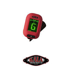 Kala KK-RD Klipz Ukulele Guitar Mandolin Bass Violin String Chromatic Tuner Red