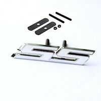 1x OEM Grille SS Emblem Front Badge 3D For Camaro Chevrolet GM serie White 1YU