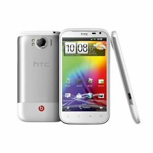New Condition HTC Sensation XL 8GB X315E White Unlocked Smartphone 12M Warranty