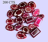 Ruby Loose Gemstone Lot Top Quality Natural Mix Shape Pigeon Blood Red