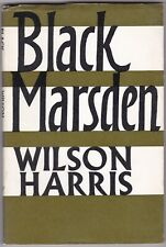 Black Marsden by Wilson Harris - Uncorrected Proof Copy - First Edition - Guyana