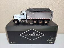Peterbilt 357 East Dump Truck - White - Sword 1:50 Scale Model #SW2042-W New!