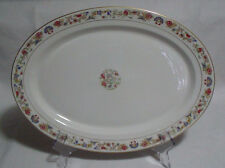 "Large Oriental Syracuse China Oval Serving Platter Plate 15 7/8"" X 11 1/2"""