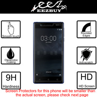 Premium Real Tempered Glass Film Screen Protector Cover Guard for Nokia Phone