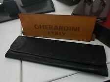 Portacravatte da viaggio GHERARDINI per due cravatte NERO-Tie rack travel