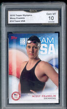 2016 Missy Franklin Topps Olympics Swimming rookie gem mint 10 #14