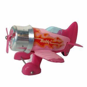 Vintage Buddy L Pink Toy Plane Miniature Collectible Pilot