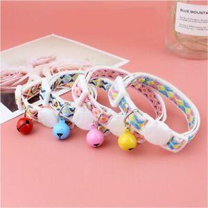 Puppy Pet Supplies Cat Collars Kitten Necklace Dog Collar Bell Pendant