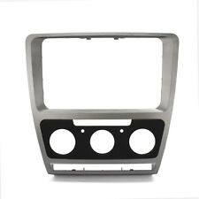 Car Stereo Refitting Frame Facia Trim Install Mount For Skoda Octavia Manual A/C