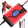 SUAOKI Car Battery Charger 4 Amp 6/12V Fully Automatic Battery Maintainer for