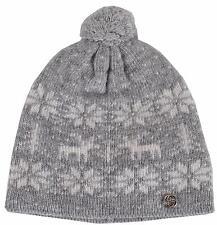 New Gucci Children's 370962 Wool Blend Interlocking GG Beanie Ski Hat SMALL